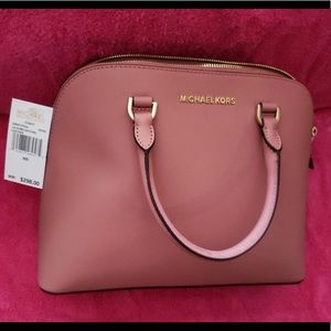 Michael kors large dome satchel